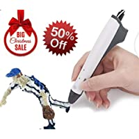 3D Printing Pen, DIY Crafts Model Drawing Pen, Safe Temperature Control Better for Kids Adult