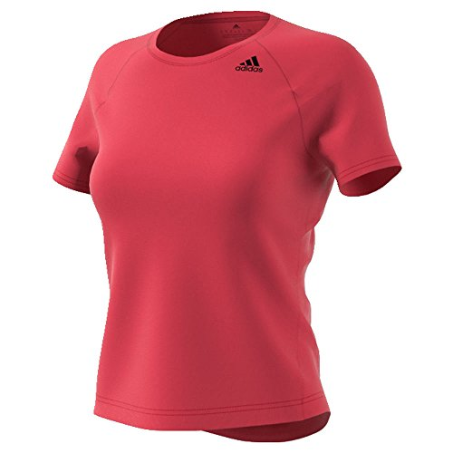 adidas Women's Training Designed-2-Move Tee, Core Pink, Large