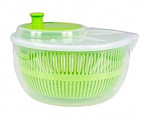 Salatschleuder Salatschüssel Grün 1 Stück