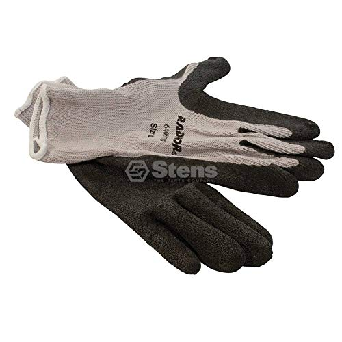 Stens Coated Work Glove Gray String Knit, X-large 751-153