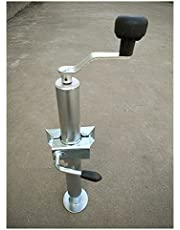 car Jack Hydraulic Trailer Support Foots, Trailer Support Legs Trailer Jack, Trailer Jockey Wheel,with Clamp, Trailer Parts,Trailer Accessories Floor Jacks Cars and Truck