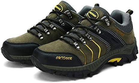 低トレイルアスレチックスキャンプ登山トレーニングスポーツスニーカー軽量アウトドアシューズメンズハイキングトレッキングシューズレザーアウトドアウォーキング (Color : Gray, Size : 39)