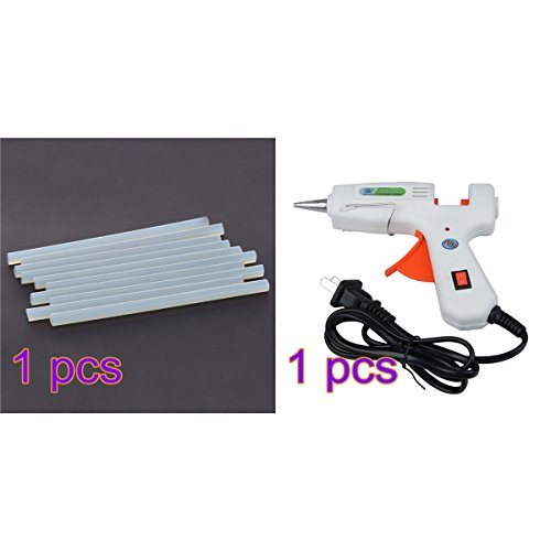 Hot Glue Gun, YUIOP 30W Glue Gun with 10pcs Glue Sticks for Arts Crafts Use,Christmas Decoration/Gifts DIY Craft Projects and Repair Kit by YUIOP