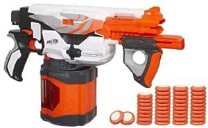 Nerf A0092148 Vortex Pyragon - Pistola de disparo rápido (40 discos)