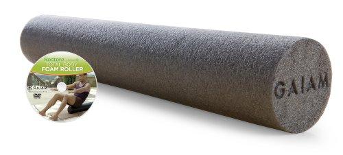 gaiam-restore-36-inch-foam-roller-w-dvd