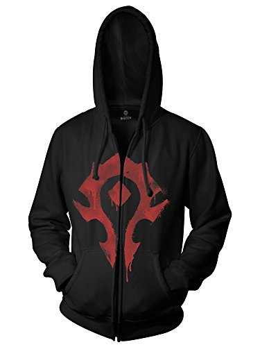 JINX-World-of-Warcraft-Mens-Horde-Spray-Paint-Zip-Up-Hoodie