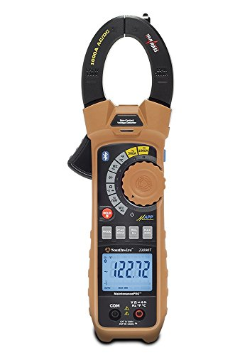 Wireless True Rms Multimeter - Southwire Tools & Equipment 23090T MaintenancePRO Smart Clamp Meter with MApp Mobile App, Multimeter with True RMS