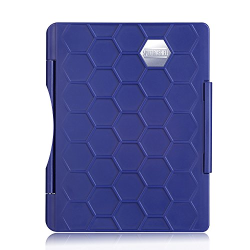 Water Resistant Passport Case, Thin and Strong Cover for Travel and Daily Protection (BLUE)