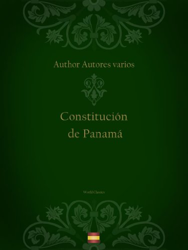 Descargar Libro Constitución De Panamá Autores Varios