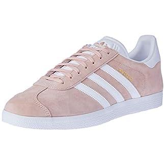 adidas Unisex-Erwachsene Gazelle Sneaker, Rosa (Vapour Pink/White/Gold Met), 42 10