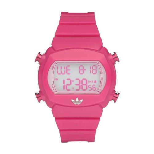 adidas Originals adidas Originals - Reloj digital de cuarzo para mujer con correa de caucho, color rosa: Amazon.es: Relojes
