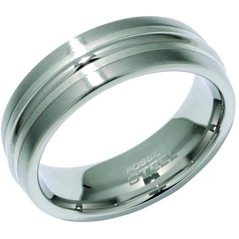 FOSSIL Damenfreundschaftsring Edelstahl 17 mm JF81016040