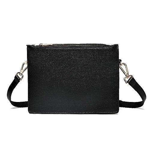 functional fashion cross bags retro oblique bag Axiba multi single women B Litchi shoulder Leather nxpqBwvaf