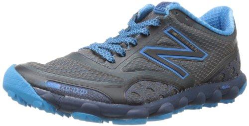 Nuovo Equilibrio Mens Mt1010 Minimus Trail Running Scarpa Grigio / Blu