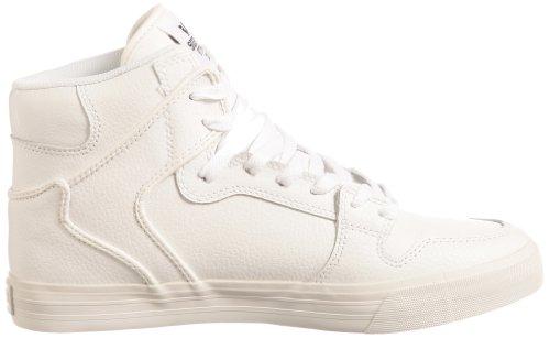 Supra VAIDER S28058 - Zapatillas de deporte de cuero para hombre blanco
