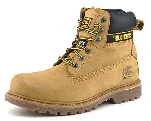 Caterpillar CATHOLTH11 Holten Chaussures de sécurité en cuir nubuck Taille 46