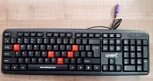 Quantum QHM7403 PS2 Wired Keyboard
