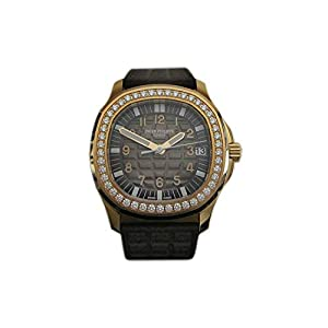 Best Epic Trends 41c4N-FKfIL._SS300_ Patek Philippe Aquanaut Luce Rose Gold Diamond Automatic Ladies Watch 5068R-001