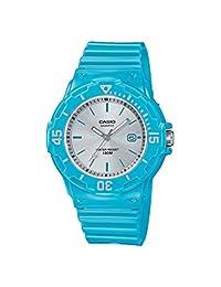 CASIO LRW-200H-2E3VEF - Reloj analógico de cuarzo para mujer con correa de resina