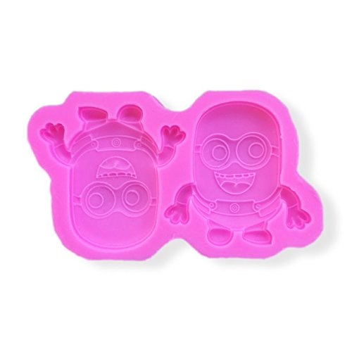 Happy Minions, Despicable Me Themed Silicone Mold from Bakell (Minon Cake)