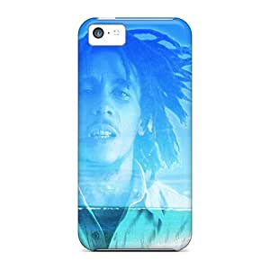 Hot Bob Marley First Grade Tpu Phone Case For Iphone 5c Case Cover
