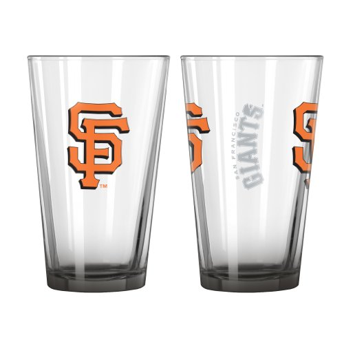 Cheap Boelter Brands MLB San Francisco Giants Elite Pint Glass Set (Pack of 2), 16-Ounce