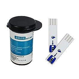 Diabetes Testing Kit 50 Test Strips, 50 Lancets Blood Glucose Precision Sugar Measurement for Diabetics