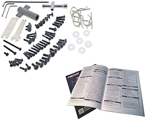 Traxxas 1/10 Slash 2WD VXL * 65+ PIECE SCREW & TOOL KIT w/ALLEN & CROSS ()