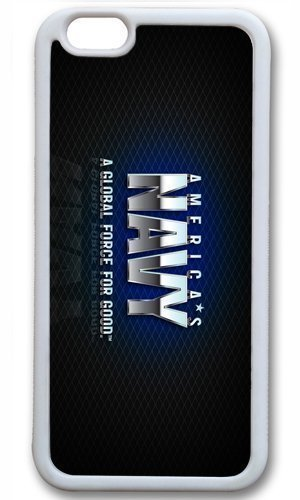 America's Navy Thanksgiving Halloween Masterpiece Limited Design TPU White Case for iPhone 4 4s by Cases & Mousepads