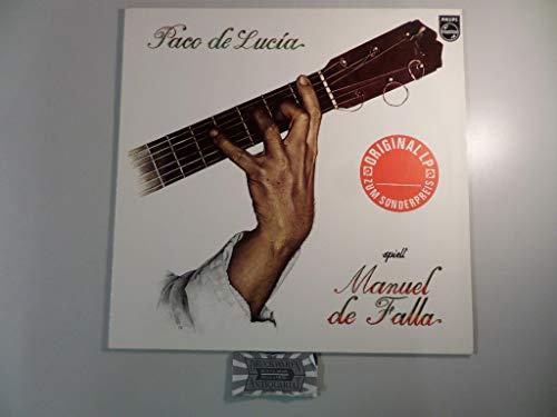 Paco De Lucía - Spielt Manuel De Falla - Philips - 6328 245: Paco De Lucía: Amazon.es: Música