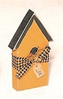 product image for Rustic Primitive Country Decorative Salt Box Bird House Amish Made USA