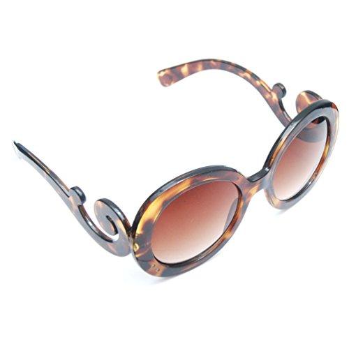SunGlaz - Round Circle Vintage Retro Inspired Frame Sunglasses (Havana Tortoise, - Nyc Sunglasses Vintage