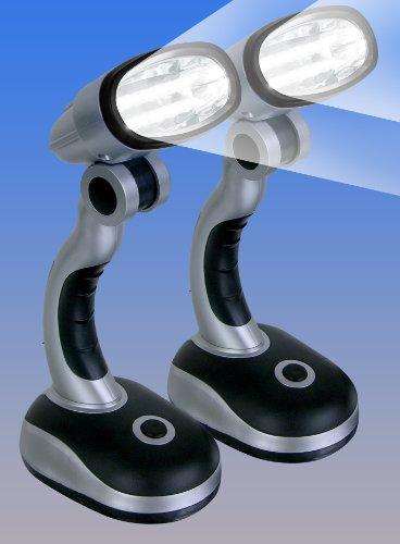 CORDLESS MULTIDIRECTIONAL LED LAMPS - SET OF 2