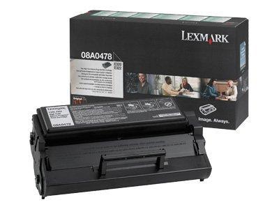 Lexmark 08A0478 OEM Toner - E320 E322 High Yield Return Program Toner (6000 Yield) OEM