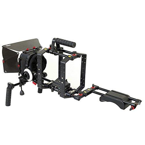 FILMCITY Video Camera Shoulder Mount Rig Kit  with Camera Ca