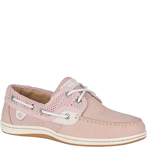 SPERRY Women's Koifish Knit Boat Shoe, Rose, 9
