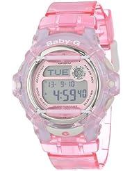 Casio Womens BG169R-4 Baby-G Pink Whale Digital Sport Watch