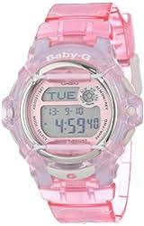 Casio Women's BG169R-4 Baby-G Pink Whale Digital Sport Watch