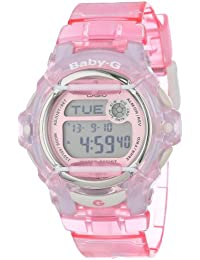 Womens BG169R-4 Baby-G Pink Whale Digital Sport Watch. Casio