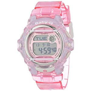 41c4QxtB8EL. SS300  - Casio Women's BG169R-4 Baby-G Pink Whale Digital Sport Watch