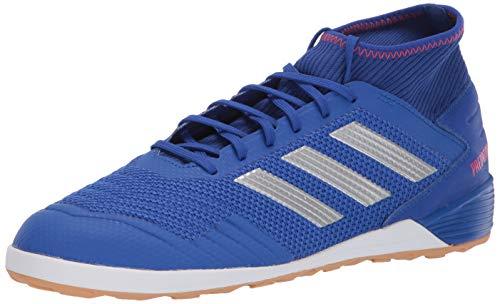 adidas Men's Predator 19.3 Indoor, Bold Blue/Silver Metallic/Active red 9 M US