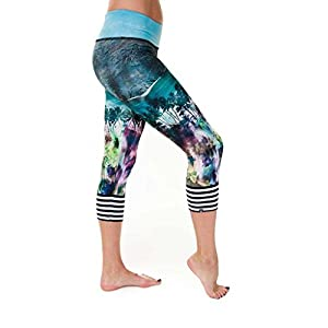 Onzie Yoga Graphic Capri 241 Malibu