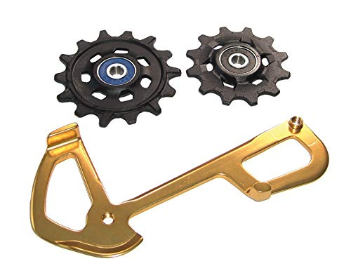 - SRAM XX1 Eagle Pulleys and Gold Inner Cage
