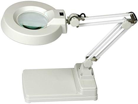MVpower Lupa con luz Lámpara de mesa de manicura Brazo Flexible ...