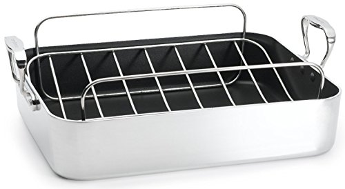 (Chef's Design 16.5 Inch French Roaster with Rack )