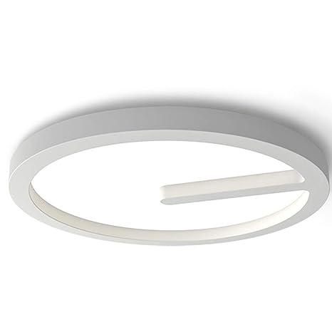 LED Redondo Lámpara de Techo Moderno Minimalismo Hierro ...