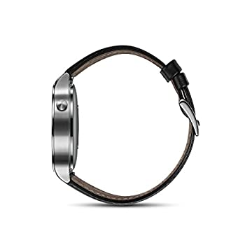 Huawei Watch Stainless Steel With Black Suture Leather Strap (U.s. Warranty) 2
