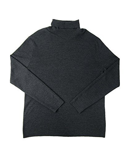 n's Merino Wool Stretch Turtleneck Sweater (XXL, Dark Granite) ()