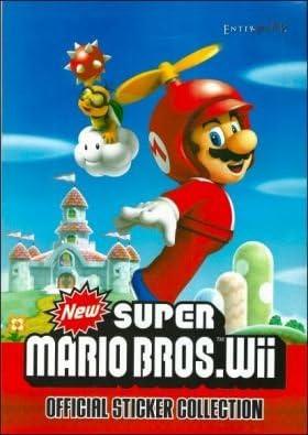 1 x Super Mario Bros Album and 4 Packs of Stickers Enter Play 2011 Spanish