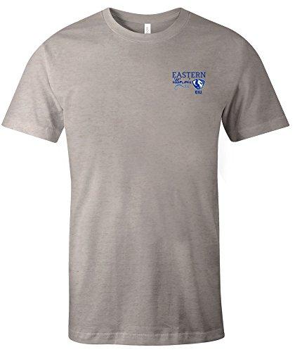 NCAA Eastern Illinois Panthers Adult NCAA Hand Type Short sleeve Triblend T-Shirt,XXL,Oatmeal